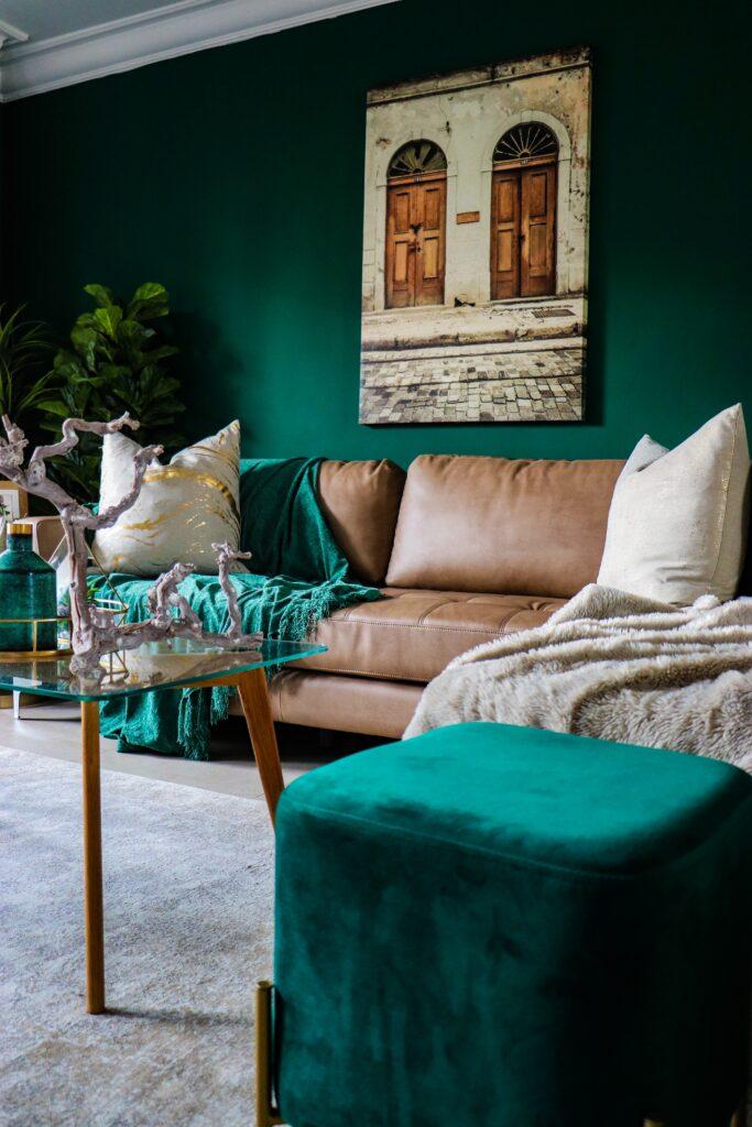 Yeşil İle Uyumlu Renkler Ev Dekorasyonu