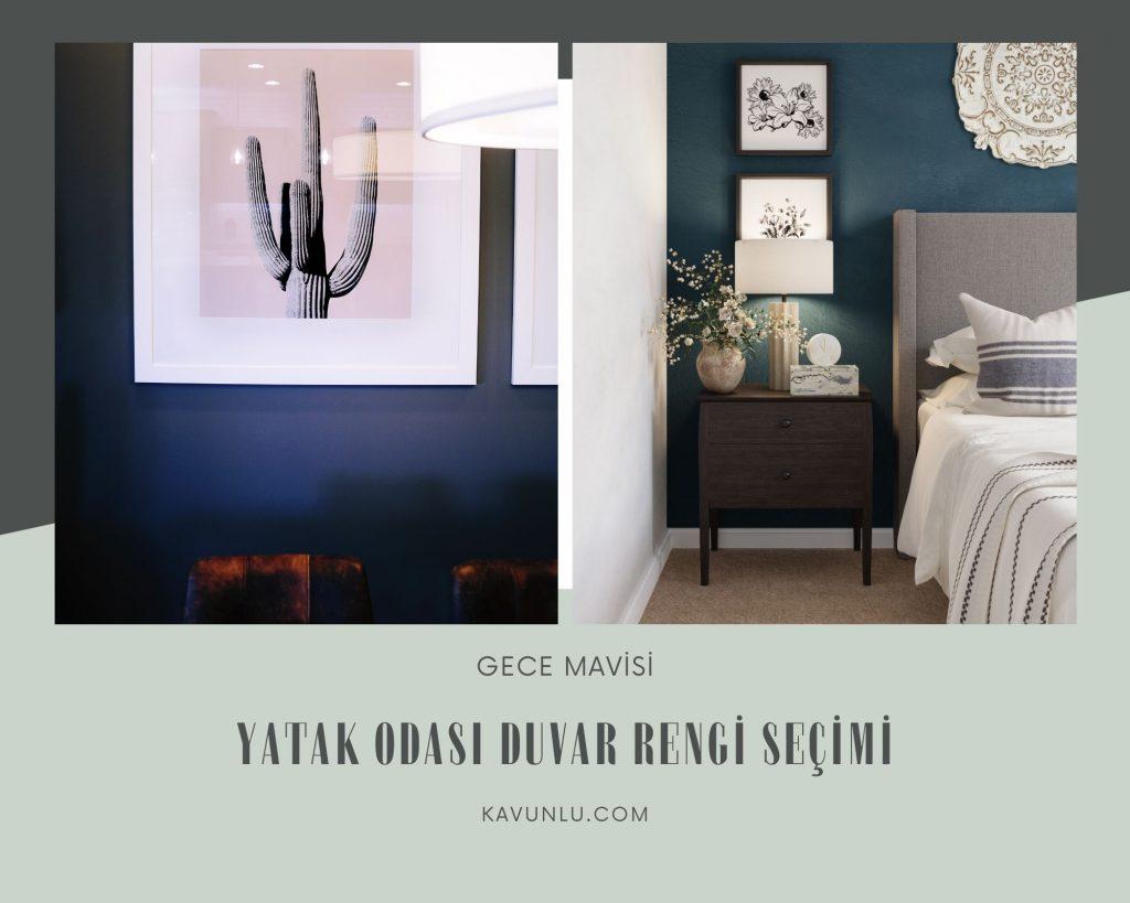 yatak odası duvar renk seçimi, duvar rengi seçimi